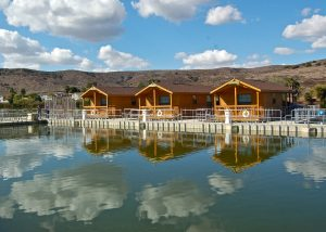 Floating Cabins and clouds