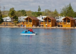 Land cabins