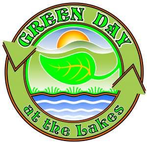 Green Day at the Lakes logo cmyk