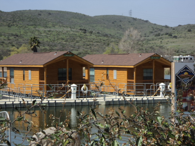Cabins from Lakeshore