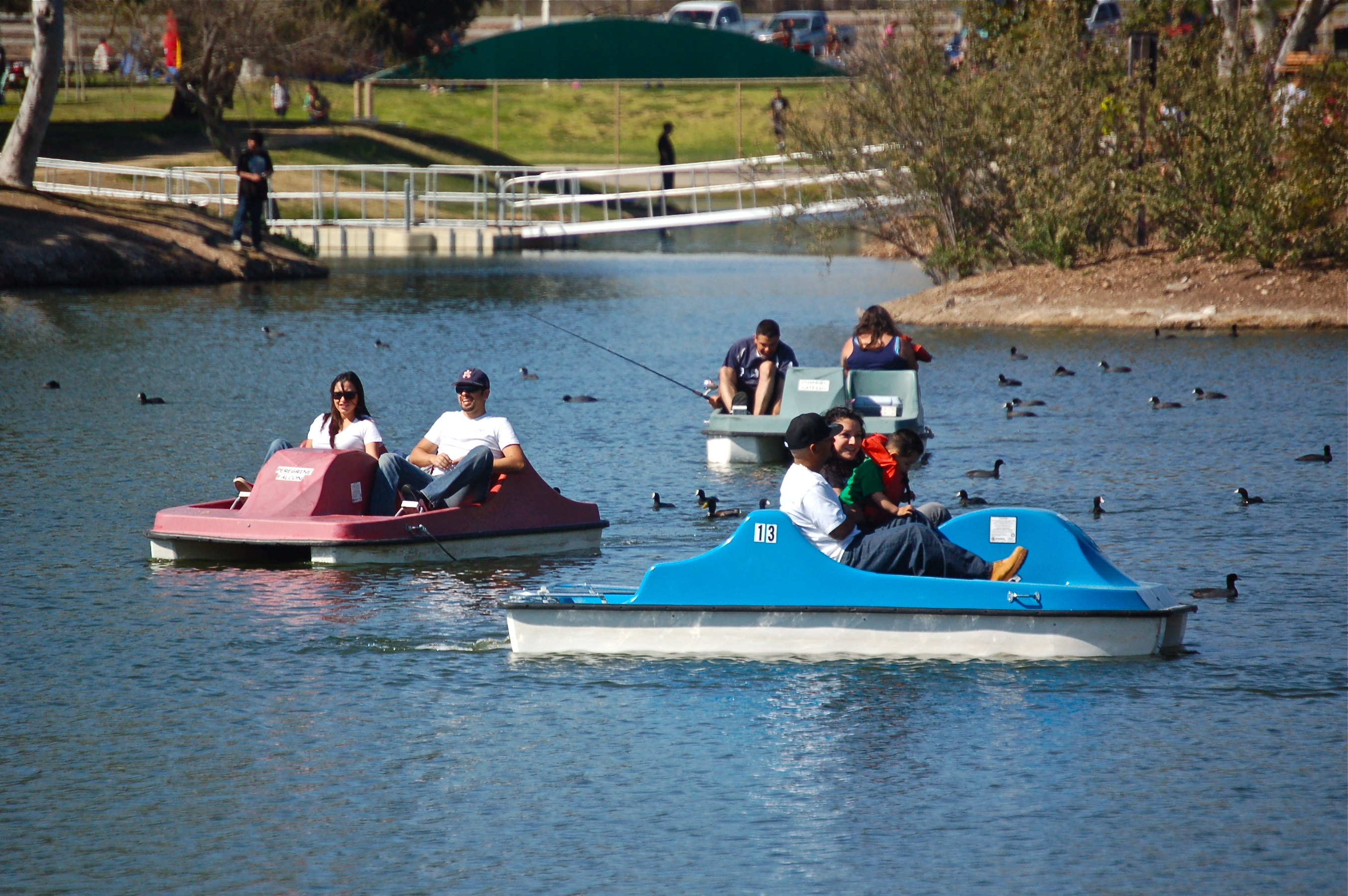 pedal boaters 2