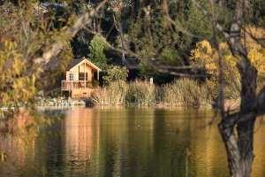 cabins at the lake